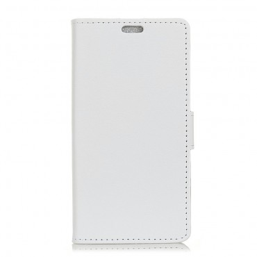 "Elegantní kryt ""Litchi"" pro Huawei P30 Lite - bílý"