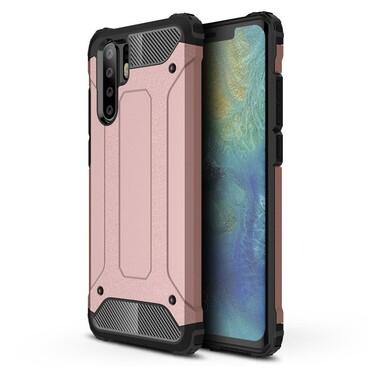 """Robustní obal """"Rock"""" pro Huawei P30 Pro - růžový"""