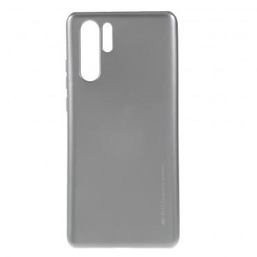 Kryt TPU gel Goospery iJelly Case pro Huawei P30 Pro - šedý