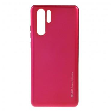 Kryt TPU gel Goospery iJelly Case pro Huawei P30 Pro - magenta