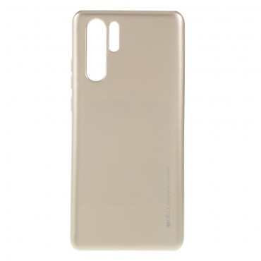 Kryt TPU gel Goospery iJelly Case pro Huawei P30 Pro - zlatý