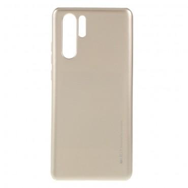 TPU gelový obal Goospery iJelly Case Huawei P30 Pro - zlaté barvy