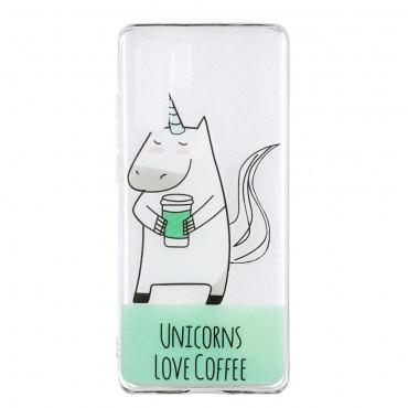 "Tenký TPU gelový obal ""Unicorn"" pro Huawei P30 Pro"
