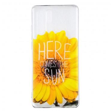 "Tenký TPU gelový obal ""Sunflower"" pro Huawei P30 Pro"