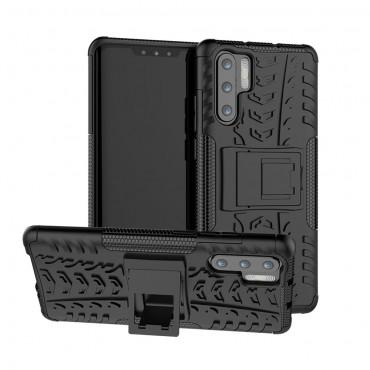 """Hybridní kryt TPU gel """"Tough"""" pro Huawei P30 Pro - bílý"""