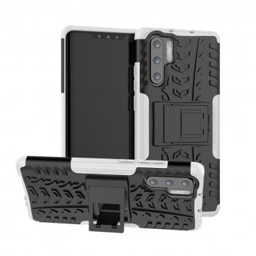"""Hybridní kryt TPU gel """"Tough"""" pro Huawei P30 Pro - černé"""