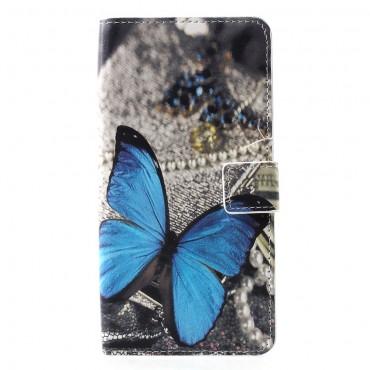 """Módní pouzdro """"Blue Butterfly"""" pro Huawei P30 Pro"""