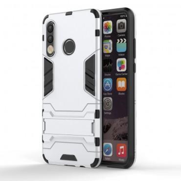 """Robustní kryt """"Impact X"""" pro Huawei P30 Lite - stříbrné barvě"""