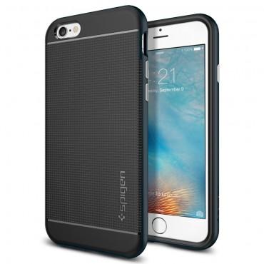 """Obal Spigen SGP """"Neo Hybrid"""" pro iPhone 6 / 6S - kovově černý"""