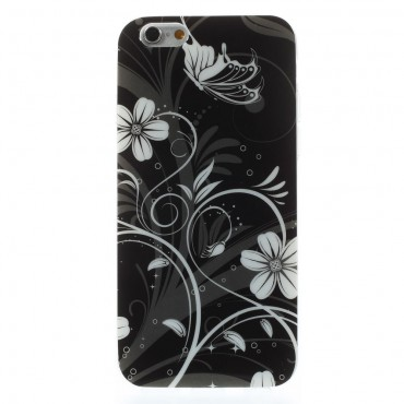 "Kryt TPU gel ""Black Fairytale"" pro iPhone 6 / 6S"