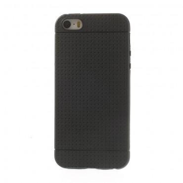 "Kryt TPU gel ""Dream"" pro iPhone SE / 5 / 5S - černý"