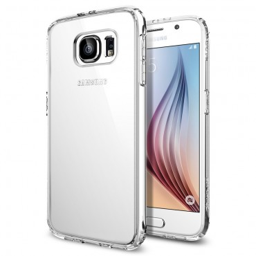 "Kryt Spigen SGP ""Ultra Hybrid"" pro Samsung Galaxy S6 - crystal clear"